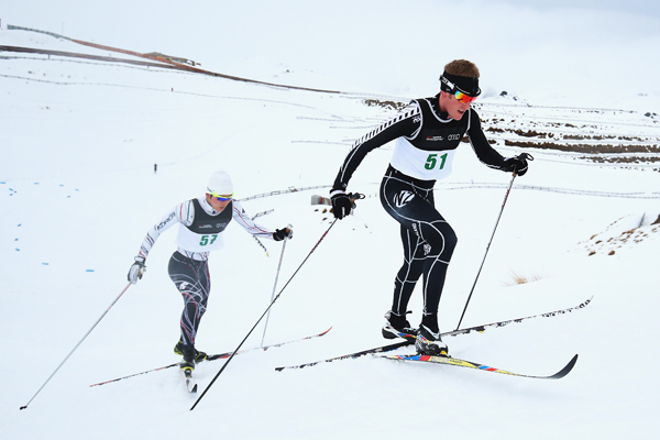 Korean clean sweep on day two of cross-country ski racing