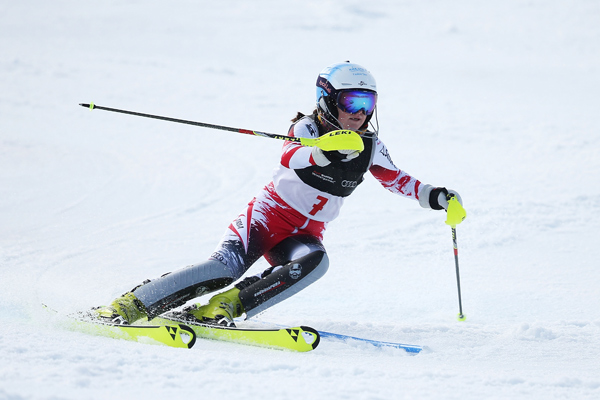 Gold medals for Austria and Slovakia after close fought FIS Alpine slalom
