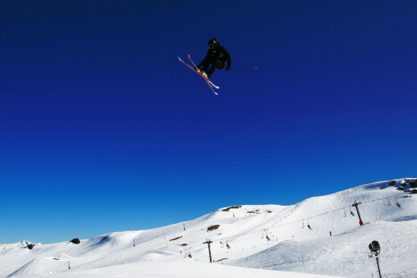 Olympians battle for FIS Freestyle Skiing World Cup Slopestyle supremacy