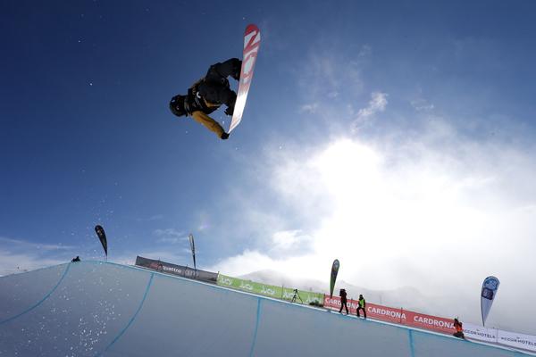 First world cup win for Katayama upsets favourites in halfpipe finals