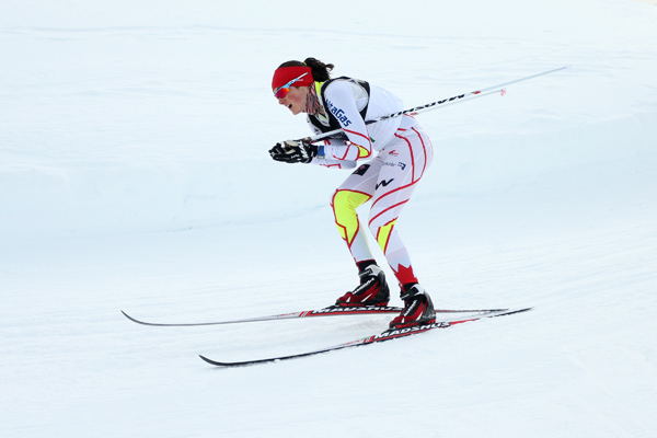Gold medals to Korea and Canada as cross-country skiing gets underway