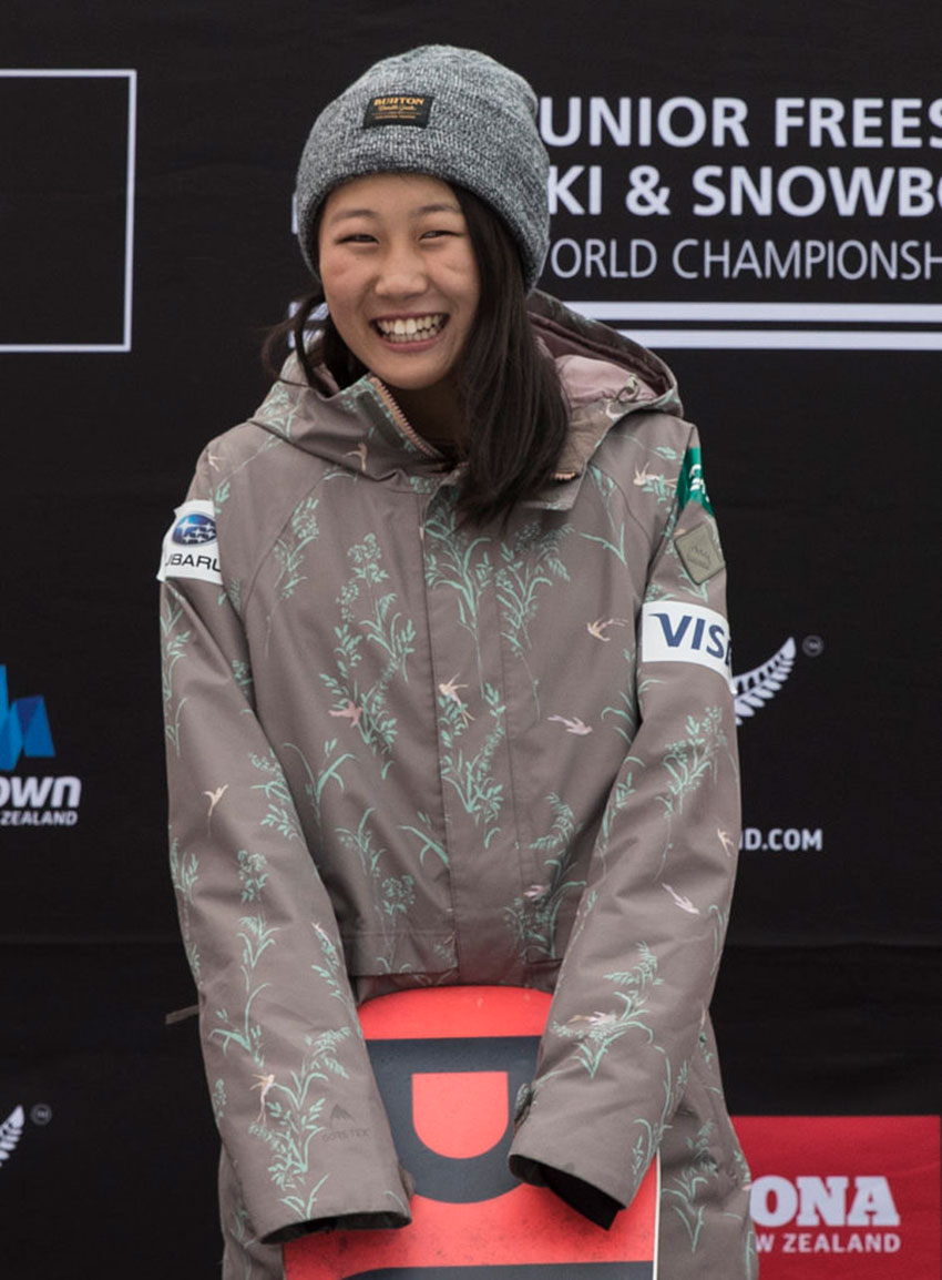 13-year-old Kokomo Murase Crowned FIS Junior Snowboard Big Air World Champion