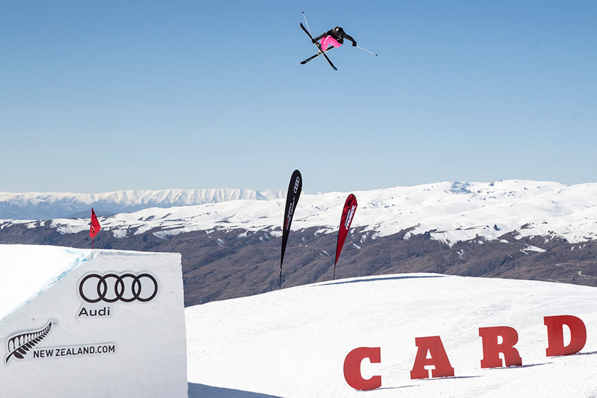 Ragettli, Gaskell Claim First Big Air World Cup Gold Medals of the Season at Winter Games NZ