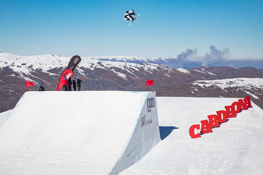 All Star Line Up for FIS World Cup Big Air at Winter Games NZ