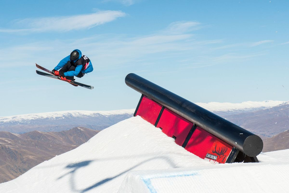 Three New Zealanders on the Podium at the Winter Games NZ ANC Slopestyle Finals!